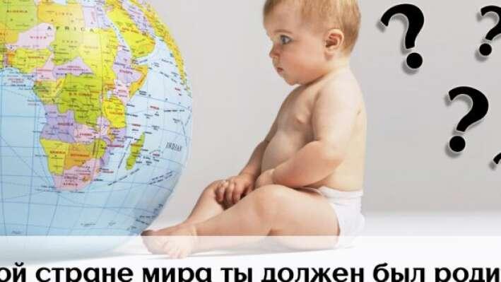 Тест: В какой стране ты должен был родиться?
