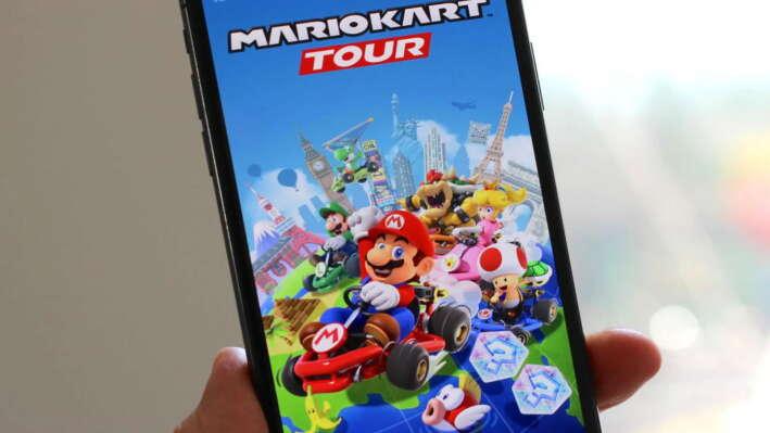 Mario Kart Tour скачали почти 124 миллиона раз