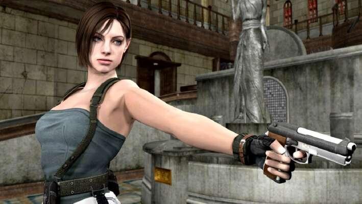 Горячие женские персонажи видеоигр