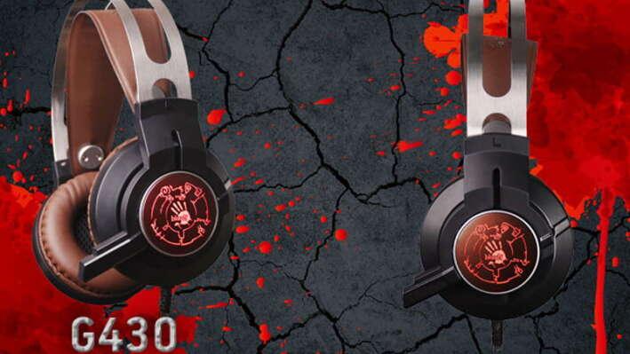 Новая игровая гарнитура A4tech Bloody G430