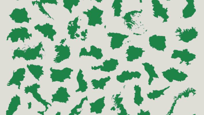 Тест: Угадайте страну по ее очертаниям