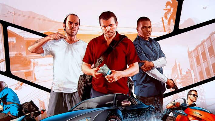 GTA V стала самой популярной игрой в Англии