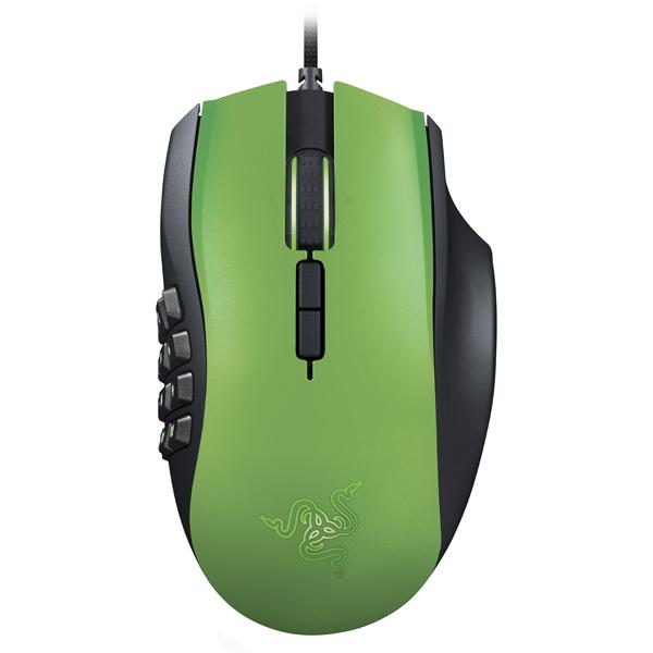 Игровая мышь Razer Naga 2014 Green LE