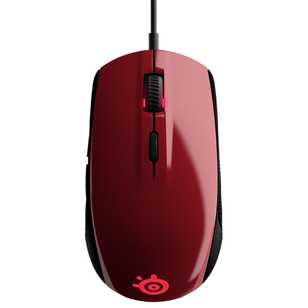 Игровая мышь Steelseries Rival 100 Forged Red