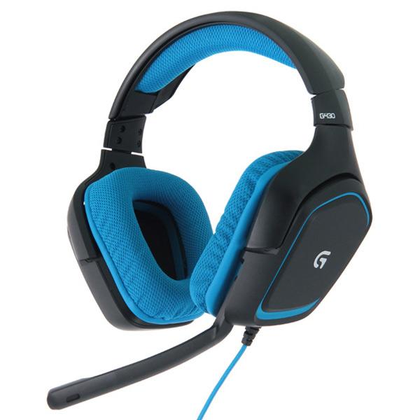 Игровые наушники Logitech G430