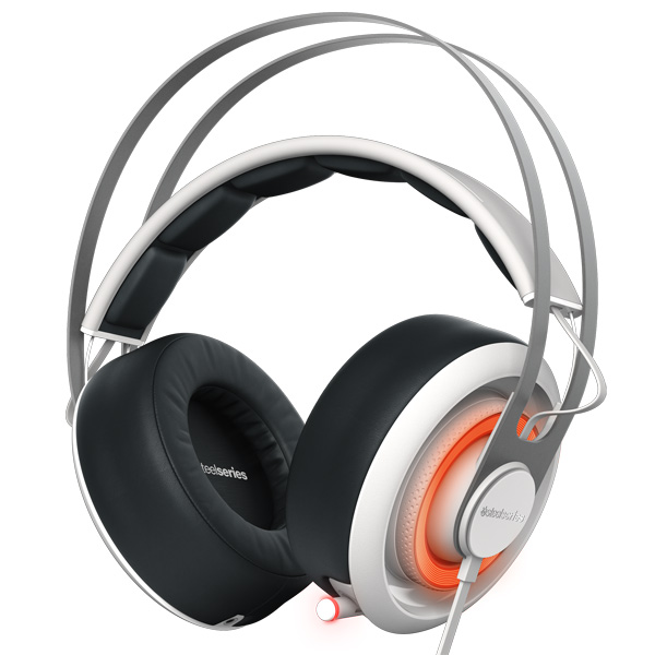 Игровые наушники Steelseries Siberia 650 White/Black