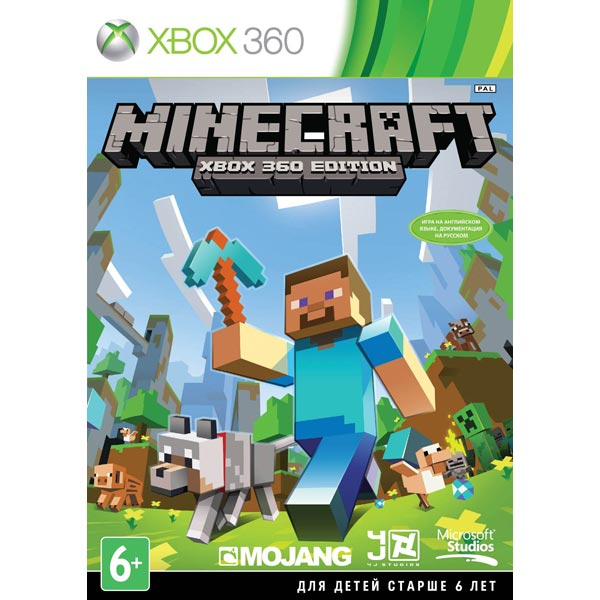 Minecraft для Xbox 360