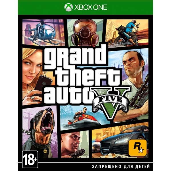 Grand Theft Auto V для Xbox One
