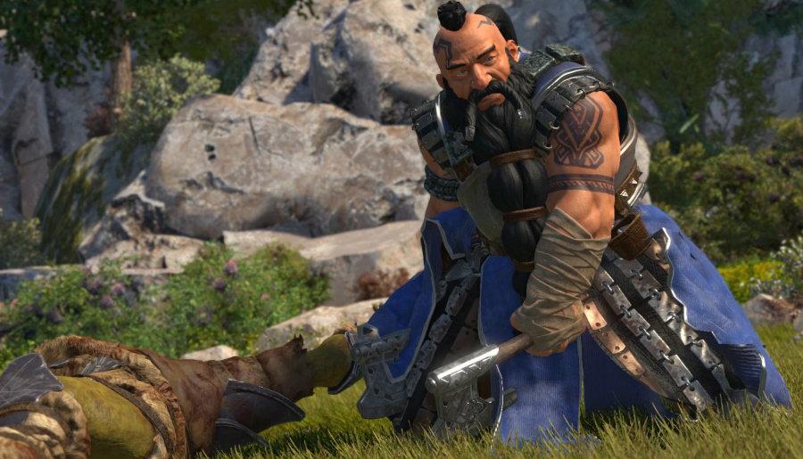 Трейлер геймплей игры The Dwarves