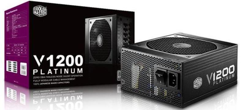 Блок питания Cooler Master V1200 Platinum 1200W