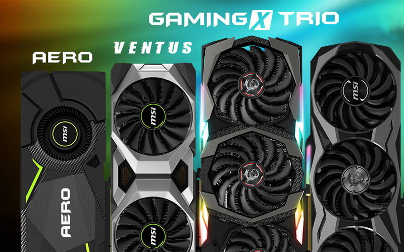 MSI представила видеокарты серии NVIDIA GeForce RTX